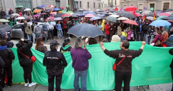 Mani anti LOMCE 2013 Segovia