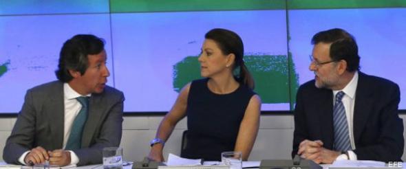 Rajoy Cospedal dirigentes PP 2013