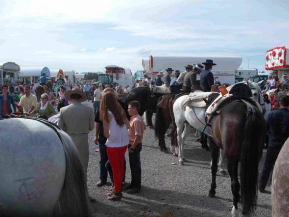 Rocio Granada 2013 carretas