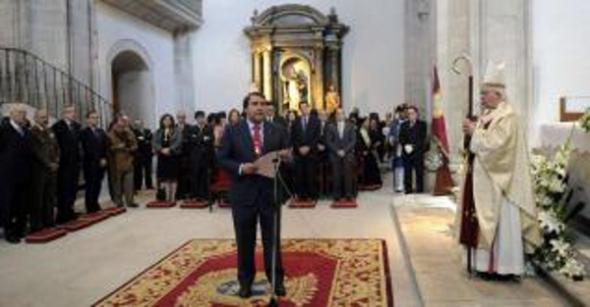 Alcalde Coruña pide a patrona 2013