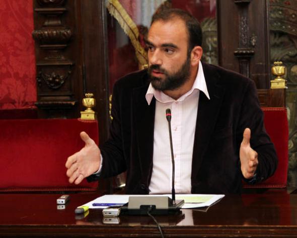 Puentedura concejal IU Granada