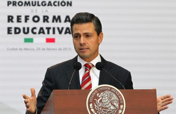 Peña Nieto Reforma Educativa MEX