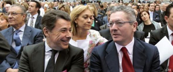 Gallardón y presidente C Madrid