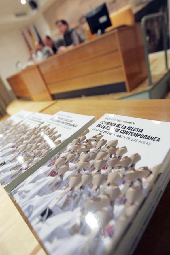 Presentación libro Poder de la iglesia en España