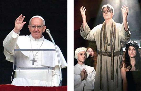 Bergoglio Bowie