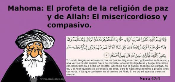 Mahoma sura 47-4