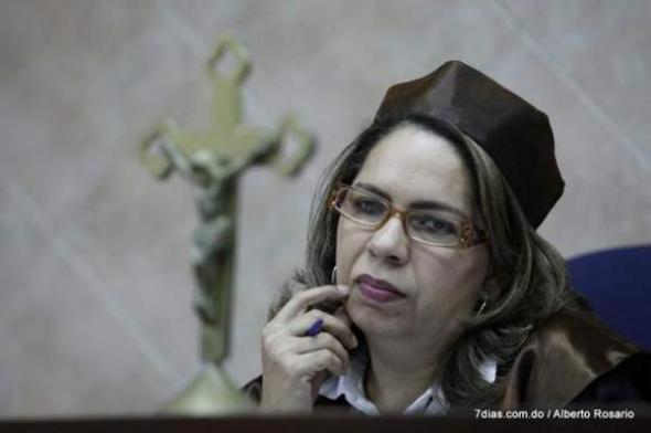 jueza Eunice Minaya R Dominicana