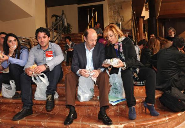 Rubalcaba PSOE Oviedo