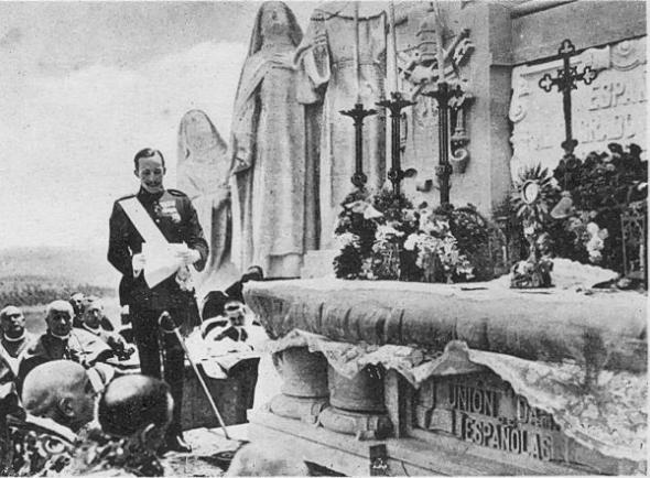Consagración Alfonso XIII