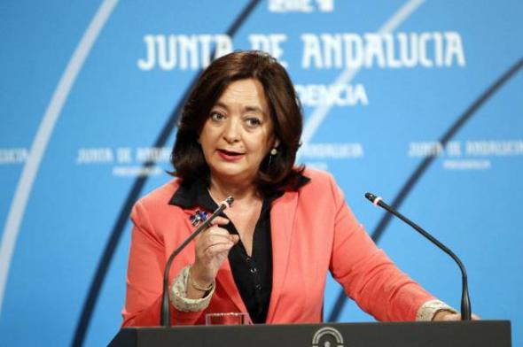 Mar Moreno Consejera Educación PSOE Andalucía 2013