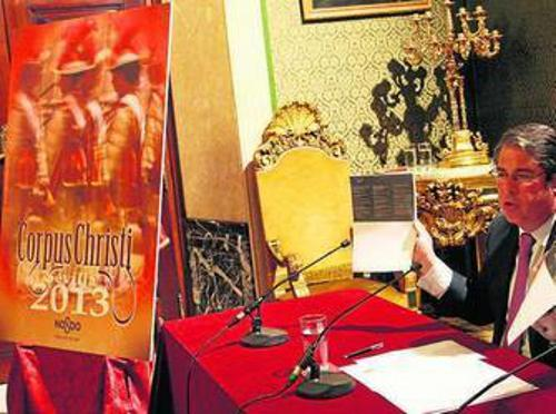 Corpus Sevilla 2013 cartel