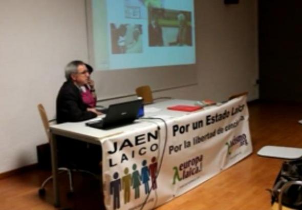 charla Jaén neolberalismo