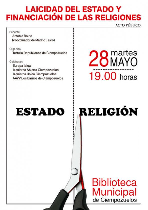 Cartel charla Madrid 2013
