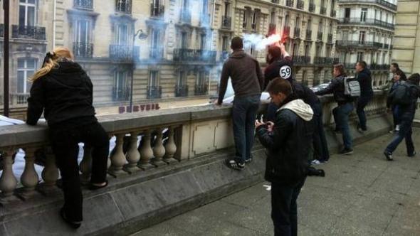 Mani anti marimonio gay París 2013
