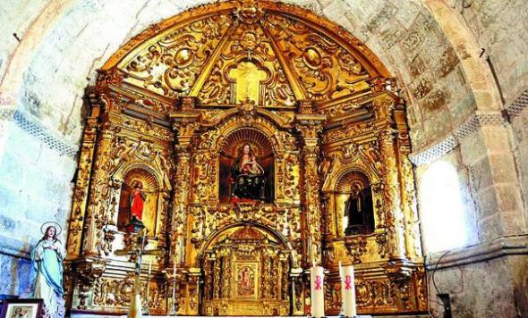 iglesia Jaramillo BU retablo