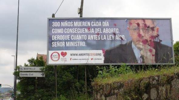 Cartel aborto cero Asturias