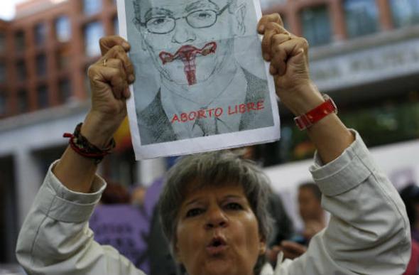 Mani marea violeta aborto Madrid 2013