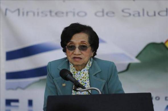Ministra Salud El Salvador