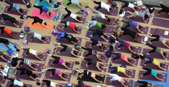 Yoga en escuelas USA