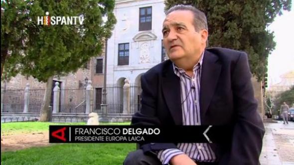 Francisco Delgado. Europa Laica