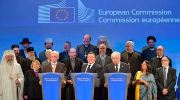 Comisión Europea y religiones 2013