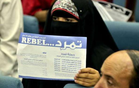 mani antiislamistas Egipto 2013