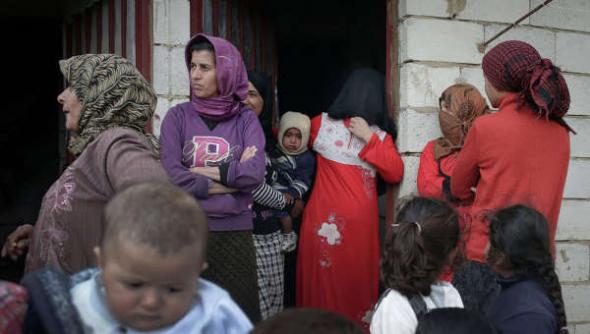 Refugiadas sirias 2013