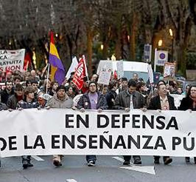 Mani LOMCE Asturias 2013