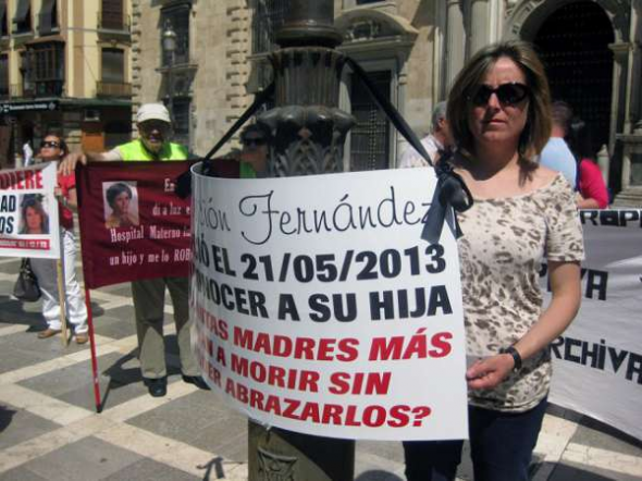Robo bebés franquismo en Granada