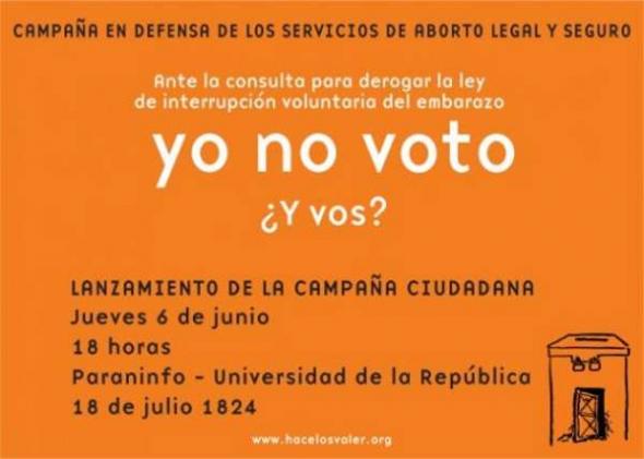 Aborto legal Uruguay 2013