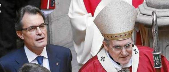 Mas y obispo Barcelona
