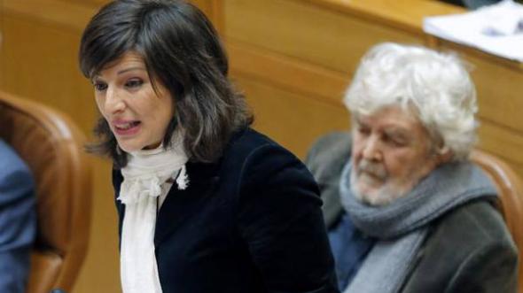 Yolanda Diaz parlamentaria AGE