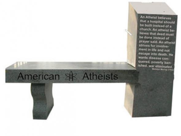 monumento ateo Florida USA 2013