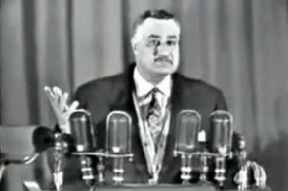 Gamal Abdel Nasser Presidente Egipto