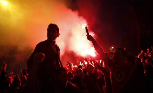 Mani contra Erdogan Ankara 2013