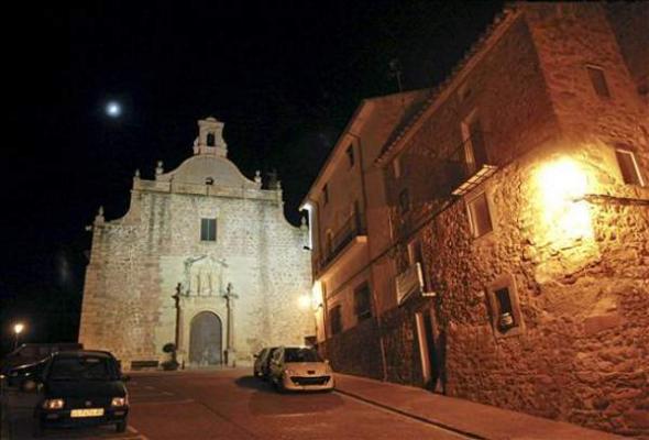 iglesia Vilafames en Castellón