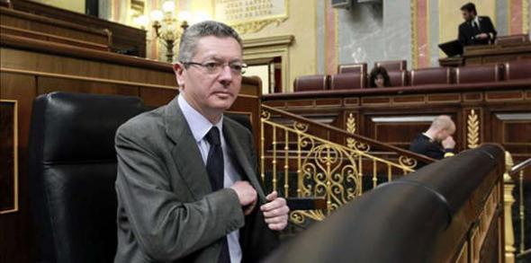 Gallardón ministro Justicia PP 2013