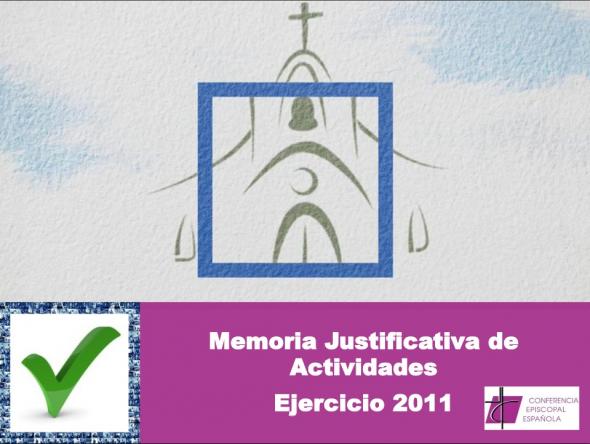 Memoria iglesia 2011