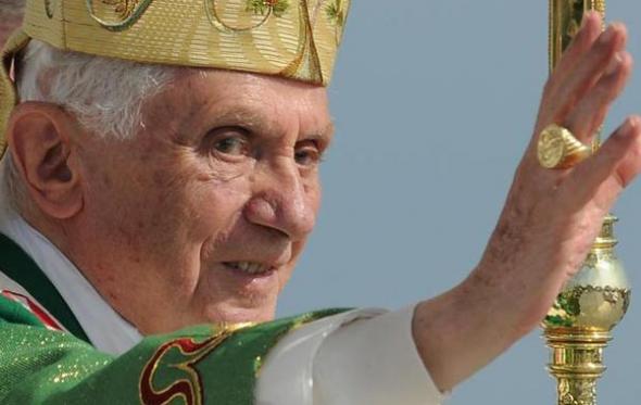 Ratzinger papa Benedicto XVI