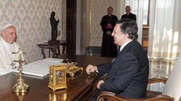 Bergoglio y Barroso