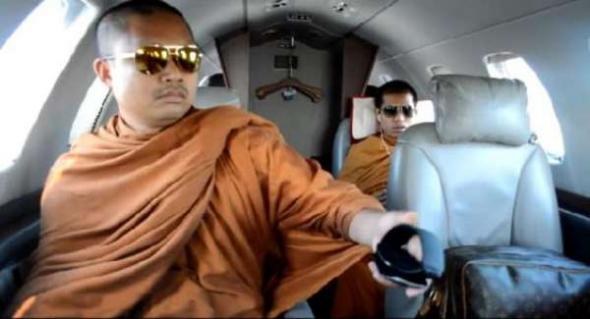 budistas jet privado