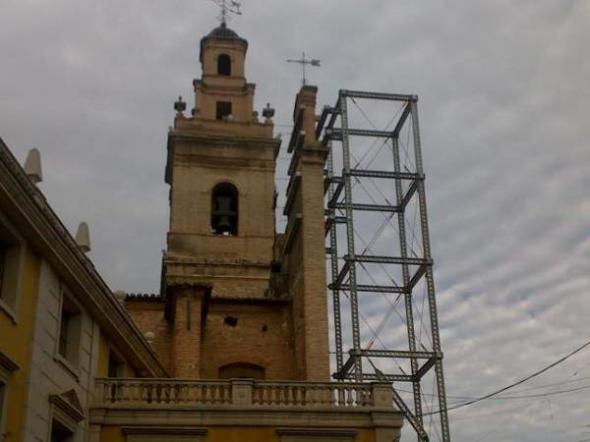 Iglesia Silla apuntalada