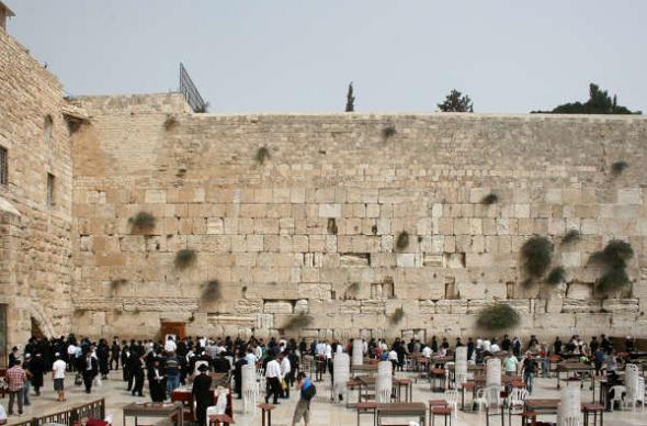 Muro lamentaciones Jerusalen