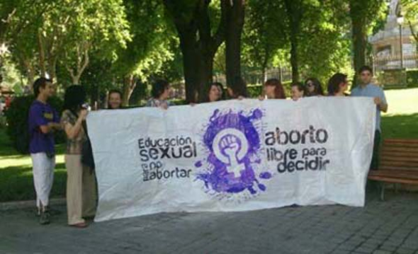Protesta aborto Rouco 2013