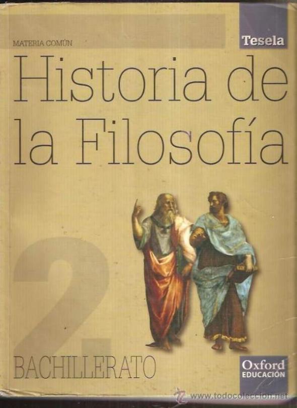 Historia Filosofía Bachillerato