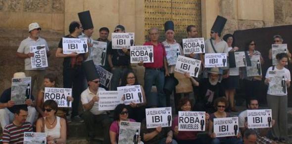 Protesta IBI Córdoba 2013