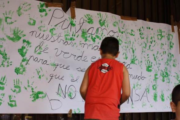 Defensa colegio público Albacete 2013