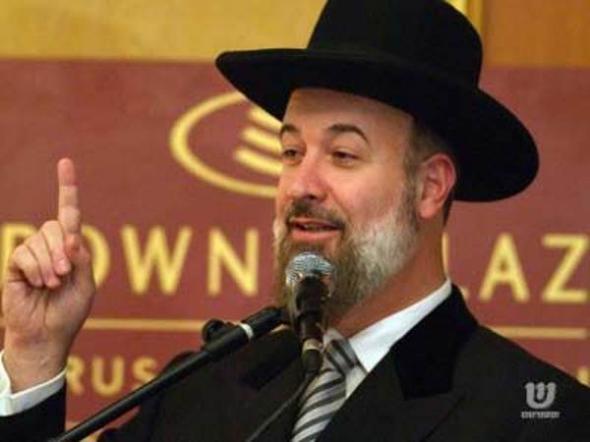 Yona Metzger rabino