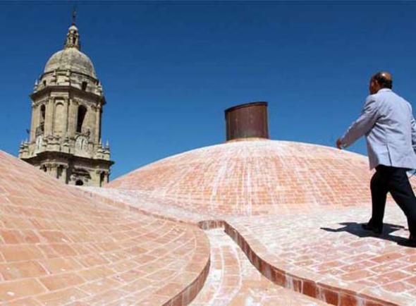 Cubierta catedral Málaga