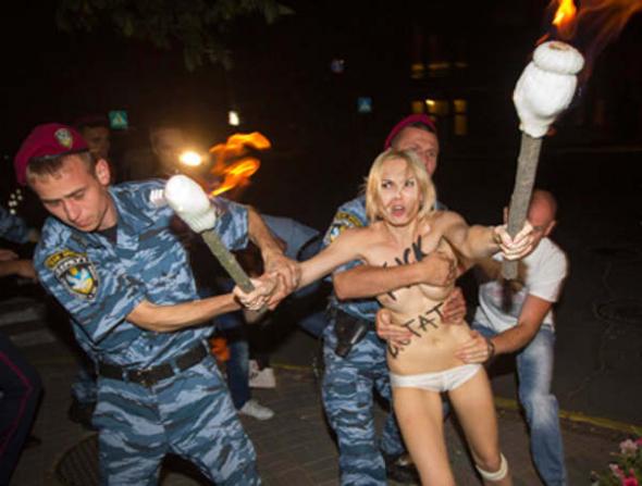 Protesta Femen Bielorrusia